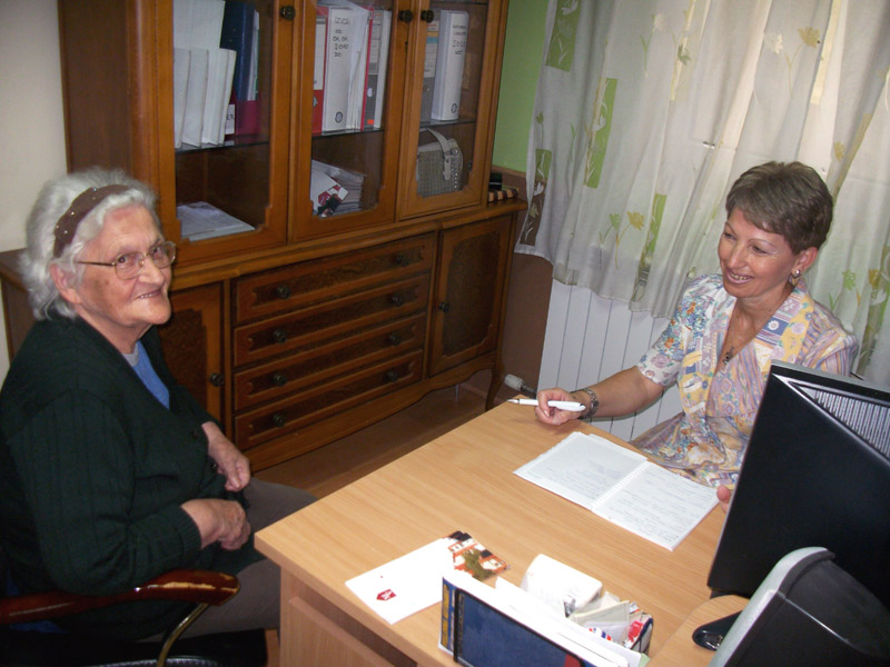 Socijalni rad u domu za stare Meliorvita